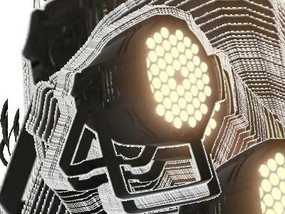 LED PAR WW 543